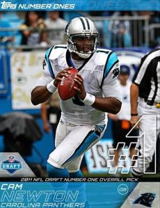 Topps Huddle Number One Cam Newton