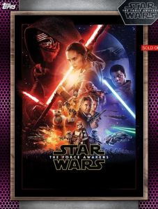 Star Wars Card Trader posters award