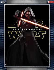 Star Wars Card trader Posters kylo ren