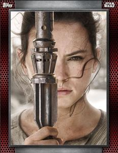 Star Wars Card trader Posters Rey