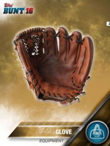 Topps Bunt Equipment Glove