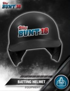 Topps Bunt Equipment Helmet