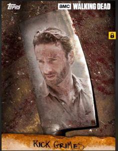 Walking Dead Card Trader Chop Rick