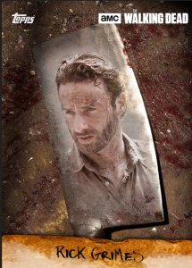 Walking Dead Card Trader Rick Grimes