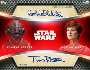 Star Wars Card Trader Dual Sig