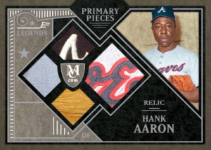Topps Bunt Museum Collection Hank Aaron