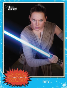 Topps Star Wars Card Trader Rey Topps Classic 2