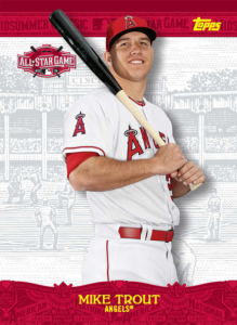 2015 Topps Bunt All Star Game FanFare