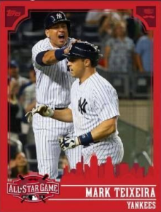 2015 Topps Bunt All Star Game Texiera