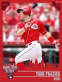 2015 Topps Bunt All Star Home Run Derby Frazier