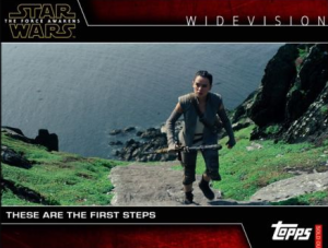 Star Card Trader Widevision Force Awakens