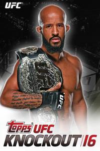 Topps UFC Knockout 2016