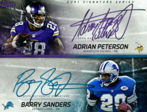 huddle-dual-sig-thanksgiving-barry-sanders-adrian-peterson
