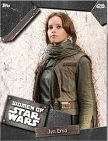 Topps Star Wars Card Trader Celebration Jyn