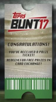 Bunt Contest Ticket