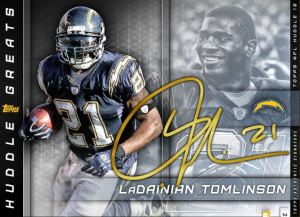 2018 Huddle greats signature gold