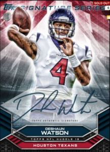 2018 Huddle signature series